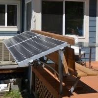 Deck Rail Mounting_ Prosolar_UniStrut-side