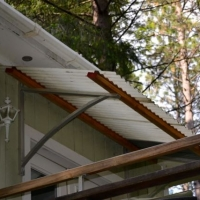 fiberglass Awning over door
