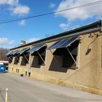 Large Span Bracket-Straight Up Solar, Webster Grove, Missouri